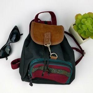 Nostalgia Vintage Mini Backpack Purse